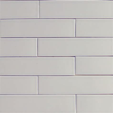 Light Blue Ceramic Subway Tile by Silver Fox Gray Subway Ceramic Tile Kiln Collection