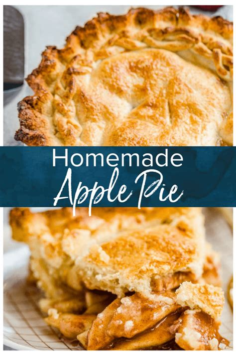 Whipping up a classic apple pie recipe from scratch is easier than you think, and it's all about simple ingredients used in all the right ways. Homemade Apple Pie Recipe - EASY from Scratch {VIDEO}