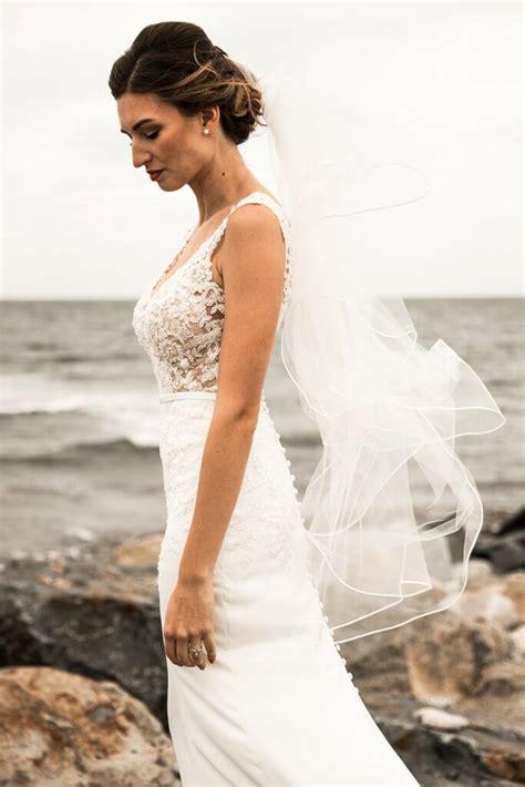 Real Stella York Bride Kaeli + Richard Pretty Happy Love
