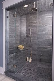 Grey Bathroom Shower Tile Ideas
