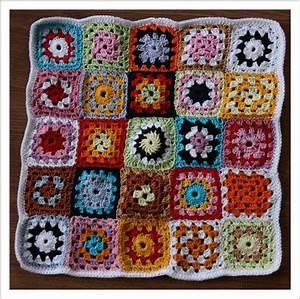 Granny Squares Muster : mit nadel und faden granny square kissen ~ A.2002-acura-tl-radio.info Haus und Dekorationen