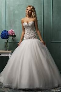 ameliasposa 2014 wedding dresses wedding inspirasi page 2 With drop waist ball gown wedding dress