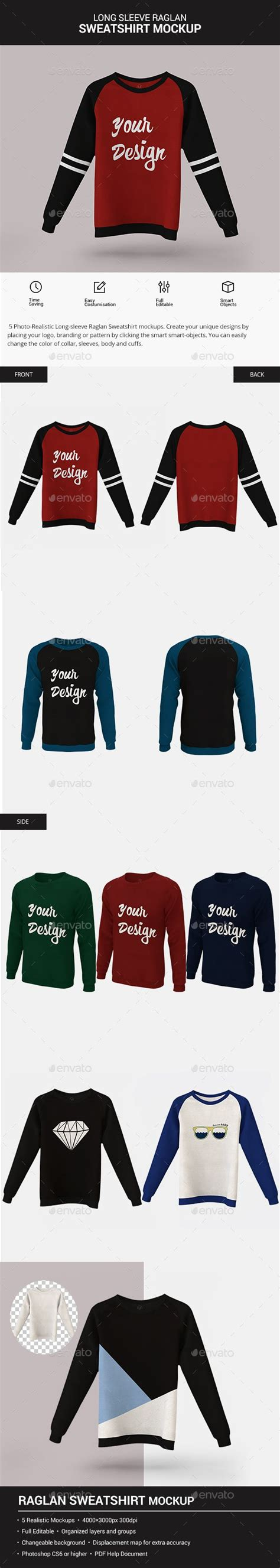 And we may not have written and performed a dazzling musical number about them for now, enjoy this men's hoodie psd mockup designed and shared by hendo pangradyan. Long Sleeve Raglan Sweatshirt Mockup. Professional ...