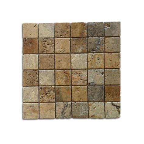 mosaic travertine tile 2x2 noce weave tumbled travertine mosaic travertine warehouse