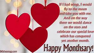 Monthsary Messages For Girlfriend - Happy Wishes Quotes ...