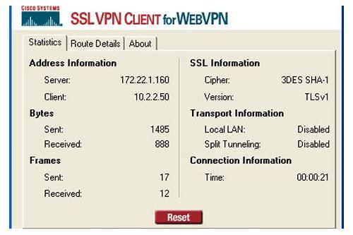 cisco systems ssl vpn baixar do client