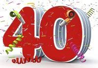40ster hochzeitstag glückwünsche zum 40 geburtstag geburtstagswünsche