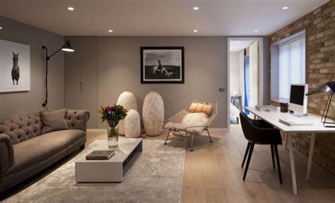 luxurious london house  exposed brick wall interiorzine
