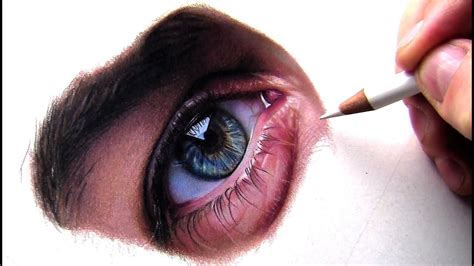 drawing  eye  colored pencil youtube