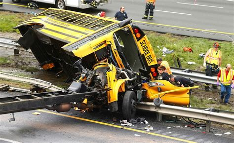 New Jersey School Bus Crash That Killed Student, Teacher