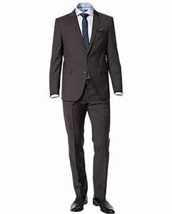 Herren Anzug Modern : joop herren herren anzug modern fit schurwolle braun meliert reduziert ~ Frokenaadalensverden.com Haus und Dekorationen