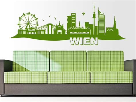 Wandtattoo Kinderzimmer Wien by Wandtattoo Wien Skyline Wandtattoo De
