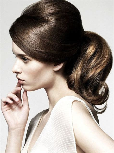 best ideas about bumped ponytail bump hairstyles curly homecoming hair and