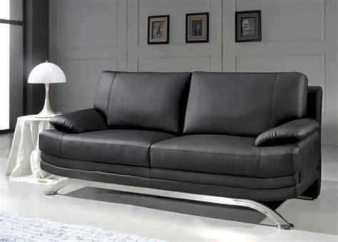produit canapé cuir idee deco canape noir meilleures images d 39 inspiration