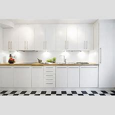 Have The Contemporary White Kitchen Cabinets For Your Home