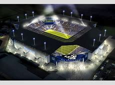 The state of the art football stadiums that have never