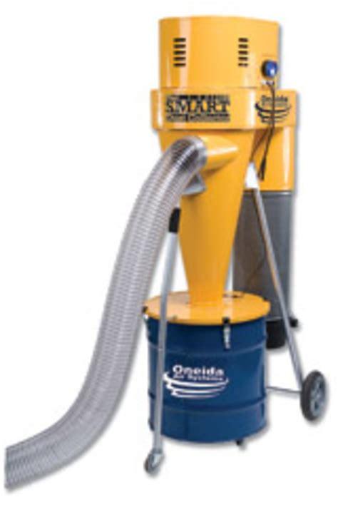 oneida smarter dust collector   woodshop news