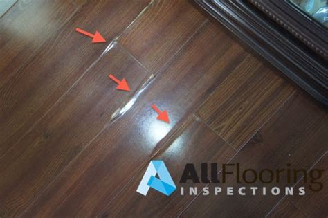 Laminate Floor Bubbling Fix by Laminate Flooring Peeling Laminate Flooring
