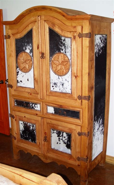log cabin furniture rustic wood cowhide hair on hide lodge