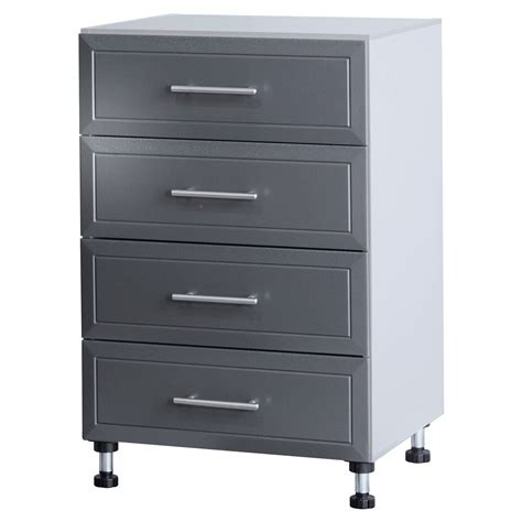 closetmaid garage closetmaid progarage 4 drawer freestanding cabinet