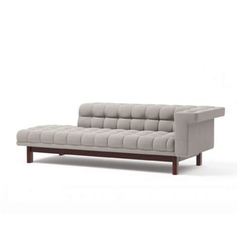 one arm loveseat george 94 quot one arm sofa with chaise truemodern