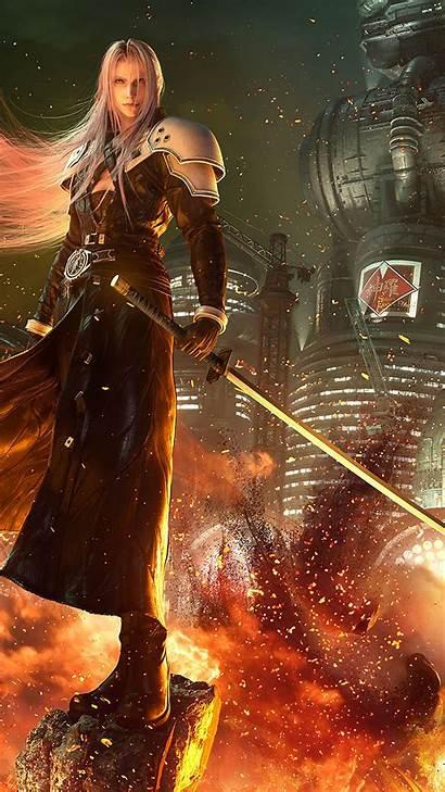 Sephiroth Remake Fantasy Final Vii Wallpapers 4k