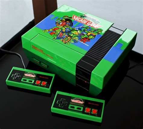Custom Teenage Mutant Ninja Turtles Tmnt 2 The Arcade Game