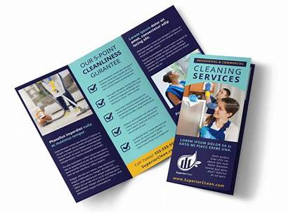 Cleaning Brochure Services Template General Templates Tri