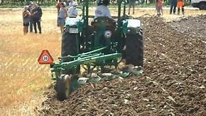 John Deere 4020 Diesel Mit F U00fcnfschar Beetpflug    Mold Board Plow