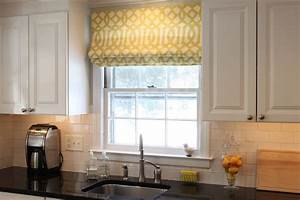 Window treatments by melissa window treatment style for Kitchen window coverings