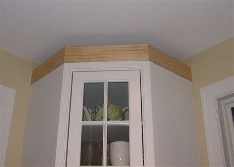 kitchen cabinet cornice moulding remodelaholic adding crown molding in our kitchen and