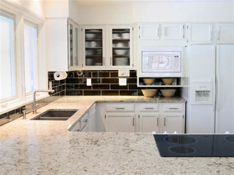 White Kitchen Countertop - white granite kitchen countertops pictures ideas from