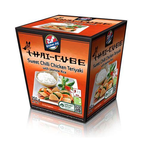 kitchen joy sweet chilli chicken teriyaki  jasmine