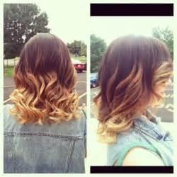 Short Ombre Hair Color