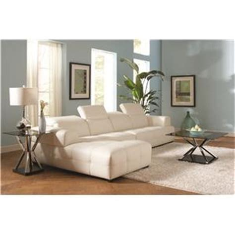 coaster darby contemporary sectional sofa with wide chaise