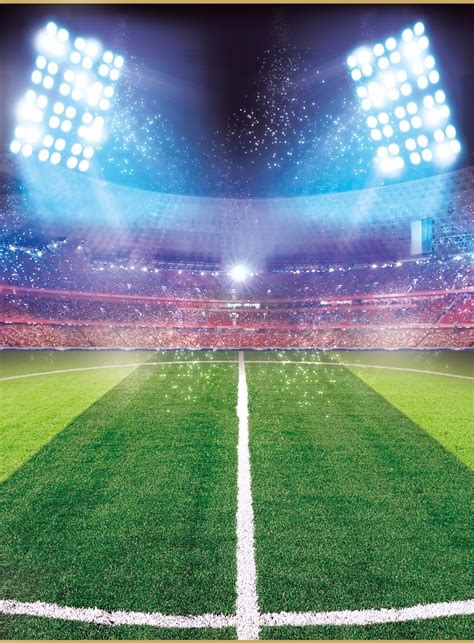advertising posters soccer field background football