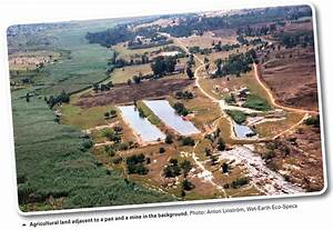 Agriculture  Mining And Wetlands Interaction
