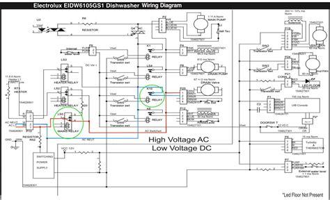 Electrolux Eidwgs Dishwasher Wiring Diagram The