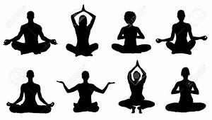 Zen clipart man meditation - Pencil and in color zen ...