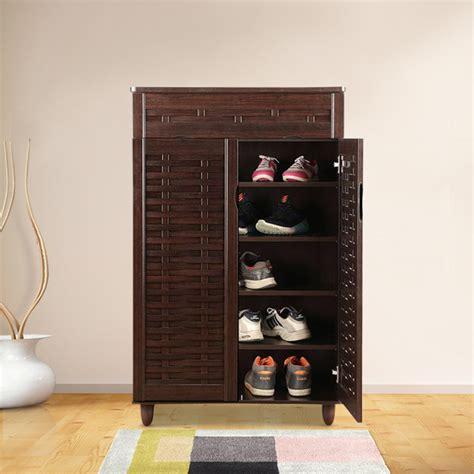 buy alton engineered wood shoe rack  wenge colour