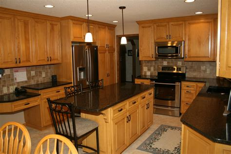 kitchen backsplash ideas with oak cabinets counters with wood cabinets kitchen countertop