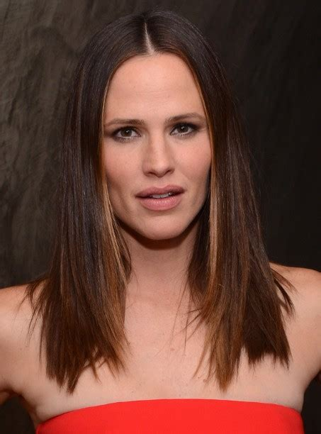 jennifer garner gorgeous shiny classic medium straight