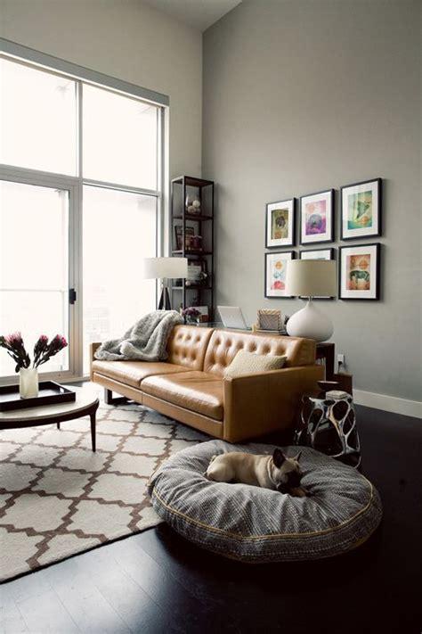 sala sofa marrom e parede cinza 25 ideias para decora 231 227 o sof 225 marrom ou sof 225 bege
