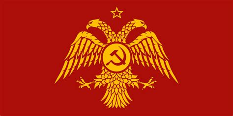 Communist Byzantine Flag By K-haderach On Deviantart