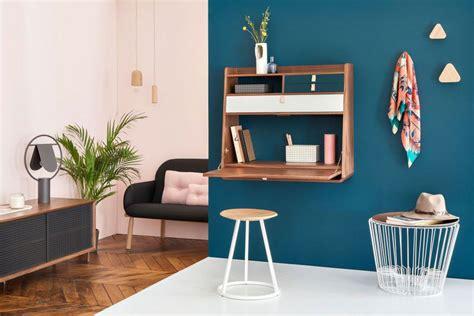 bureau escamotable mural 10 idées de bureau mural rabattable pour petits espaces
