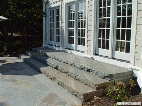 stone slab steps    floor dsc patio
