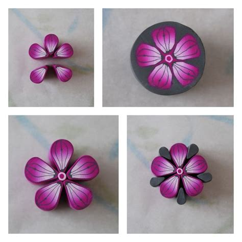 tuto fleur pate fimo 17 best images about pate fimo on mandalas bijoux and fimo