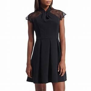 morgan robe avec dentelle noir brandalley With robe dentelle morgan