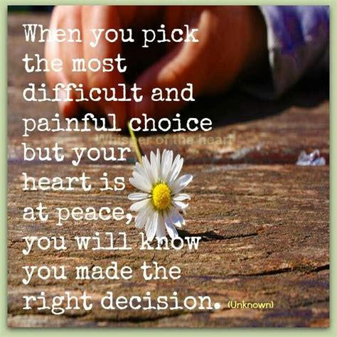 Inspirational Quotes About Making The Right Decisions