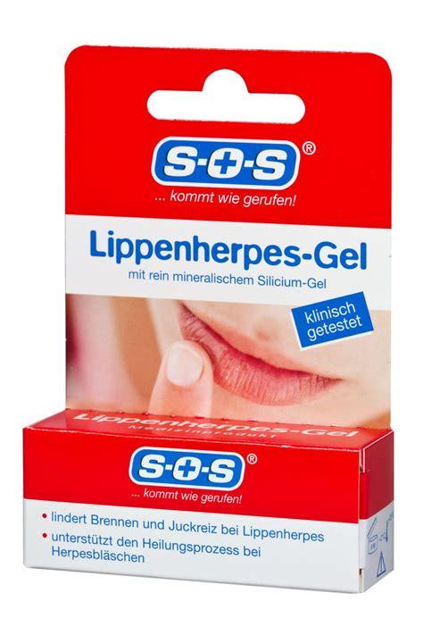 sos lippenherpes gel